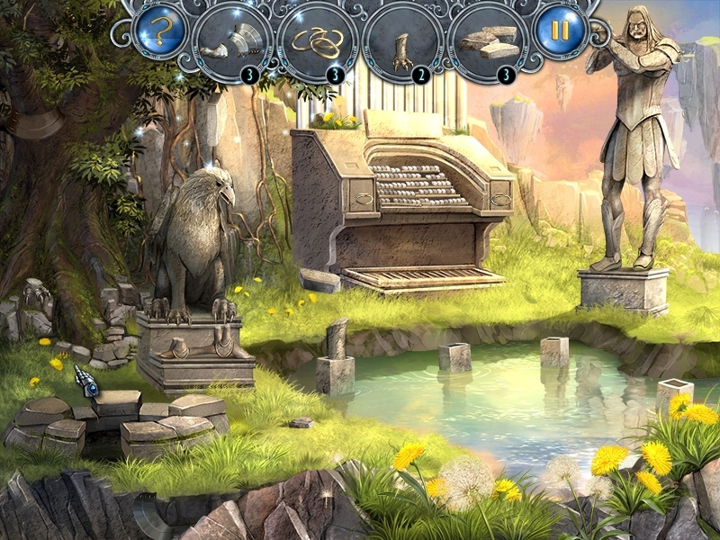 Obrázek ze hry Proroctví ztraceného království
