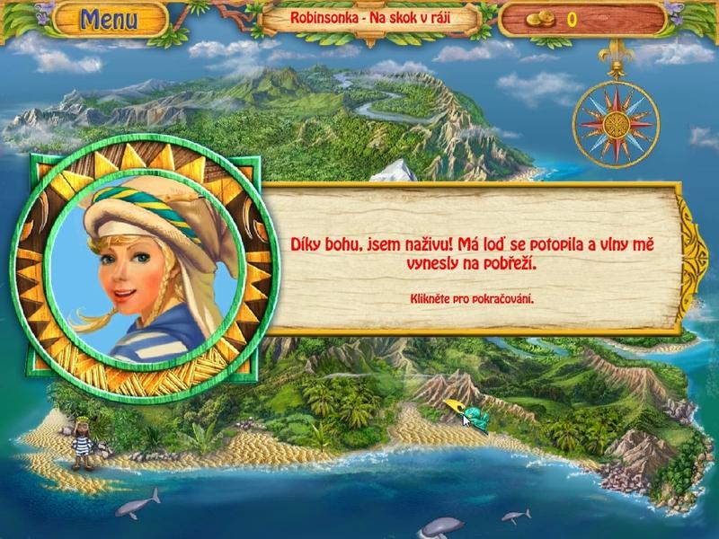 Obrázek ze hry Robinsonka - Na návštěvě v tropech