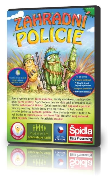 Logické hry - Zahradní policie