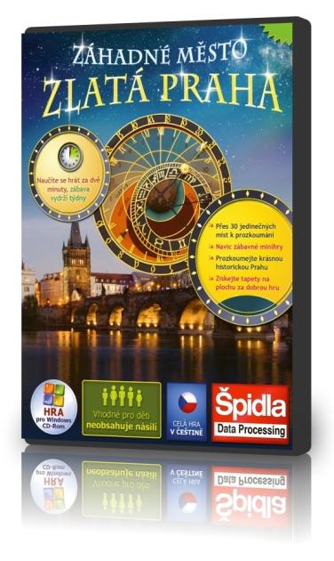 Logické hry - Záhadné město - Zlatá Praha