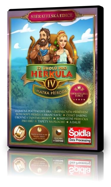 Obsluhovačky - 12 úkolů pro Herkula 4 - Matka příroda - Sběratelská edice