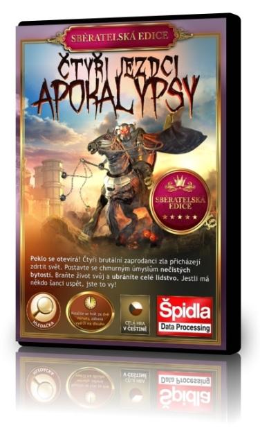 Hledačky - Čtyři jezdci Apokalypsy - Sběratelská edice