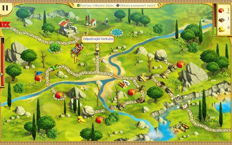 Obrázek ze hry 12 úkolů pro Herkula 1