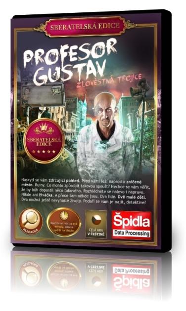 Hledačky - Profesor Gustav - Zlověstná trojice - Sběratelská edice