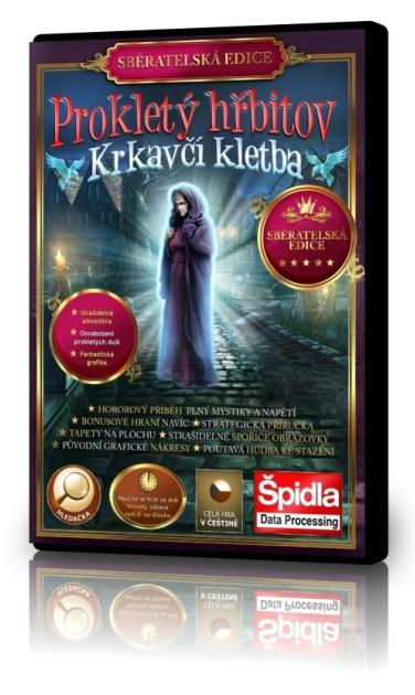 Hledačky - Prokletý hřbitov - Krkavčí kletba - Sběratelská edice
