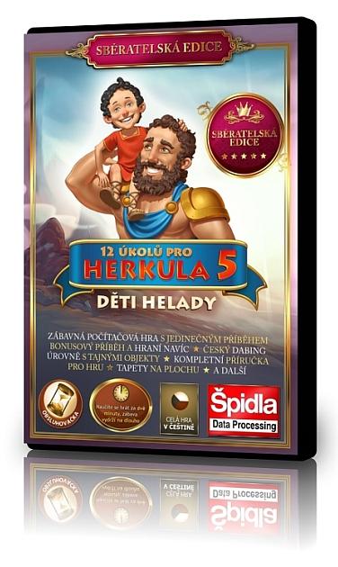 Obsluhovačky - 12 úkolů pro Herkula 5 - Děti Helady - Sběratelská edice