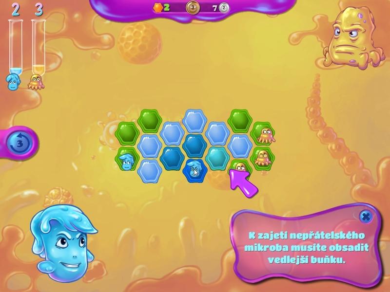 Obrázek ze hry Byl jednou jeden mikrob