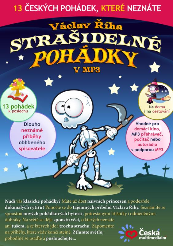 Pohádky v MP3 ke stažení - Václav Říha - Strašidelné pohádky