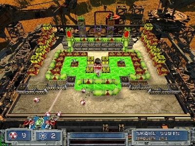 Obrázek ze hry Atomový míč 2