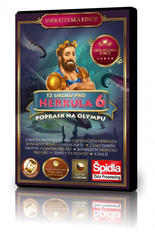 Obsluhovačky - 12 úkolů pro Herkula 6 - Poprask na Olympu - Sběratelská edice