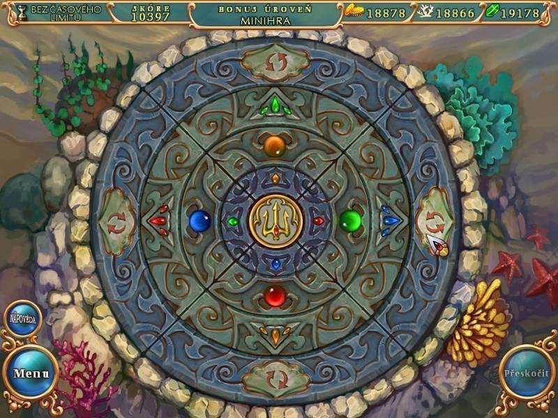 Obrázek ze hry Kouzelný mořský svět 3 - Dobrodružství v Atlantidě