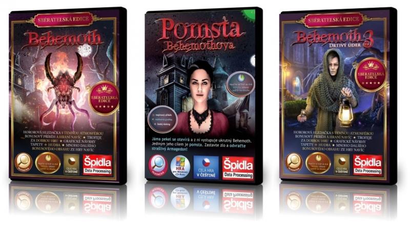 Hledačky - Behemoth - Sběratelská edice (1) • Pomsta Behemothova (2) • Behemoth - Drtivý úder - Sběratelská edice (3)