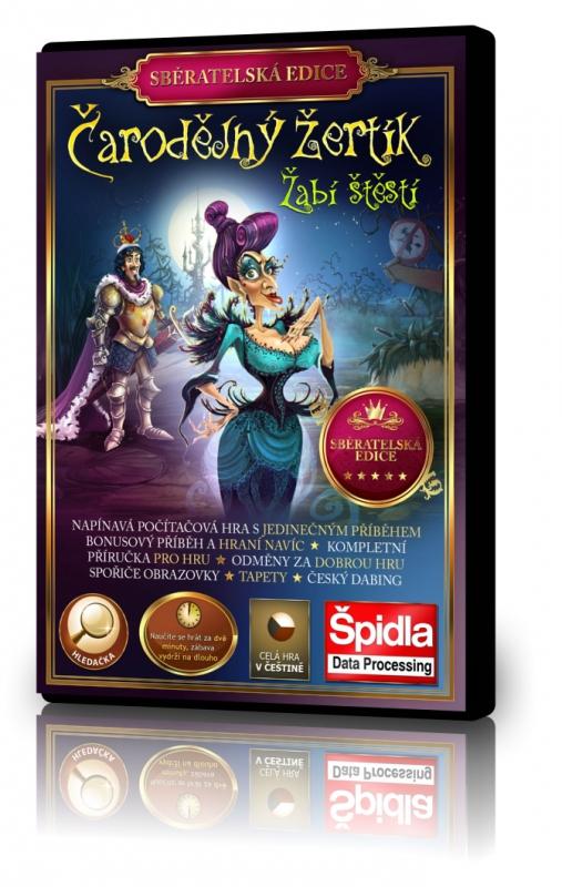 Obal hry Čarodějný žertík - Žabí štěstí – Sběratelská edice