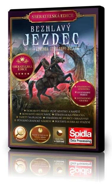 Hledačky - Bezhlavý Jezdec - Legenda ze Sleepy Hollow - Sběratelská edice
