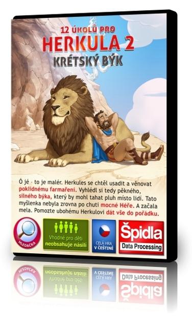 Obsluhovačky - 12 úkolů pro Herkula 2 - Krétský býk