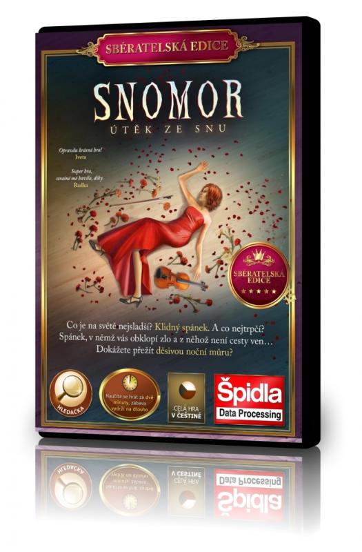Hledačky - Snomor 1 - Útěk ze snu - Sběratelská edice