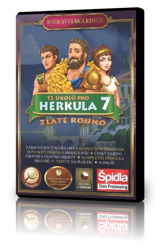 Obsluhovačky - 12 úkolů pro Herkula 7 - Zlaté rouno - Sběratelská edice