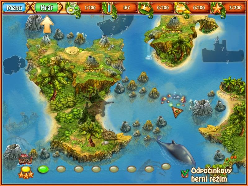 Obrázek ze hry Císařský ostrov 2 - Pátrání po nové zemi