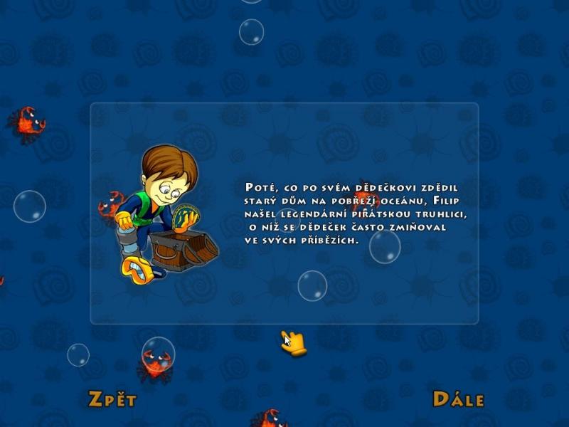 Obrázek ze hry Filipova dobrodružství - Na stopě rodinným pokladům