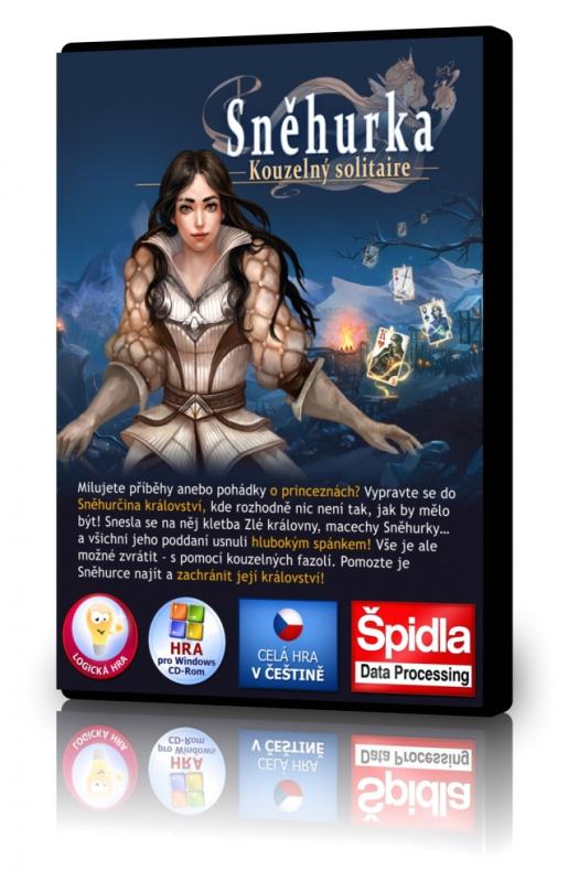 Logické hry - Sněhurka - kouzelný solitaire