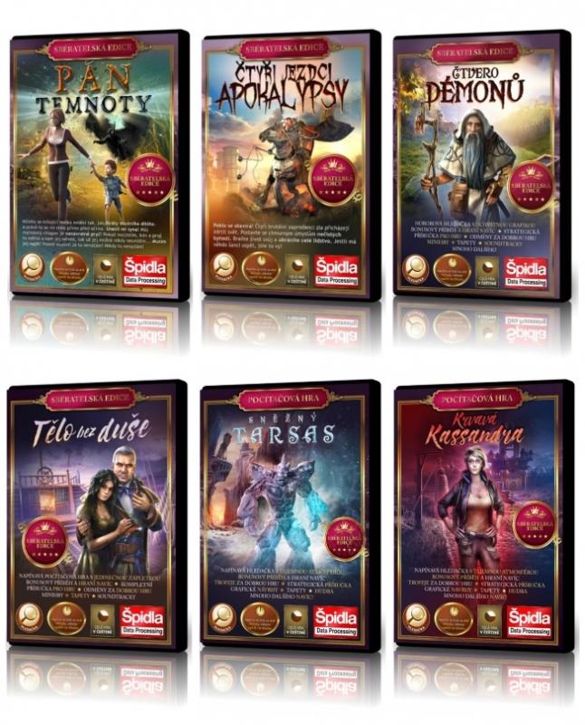 Hledačky - Kompletní herní sága ze Ztraceného světa