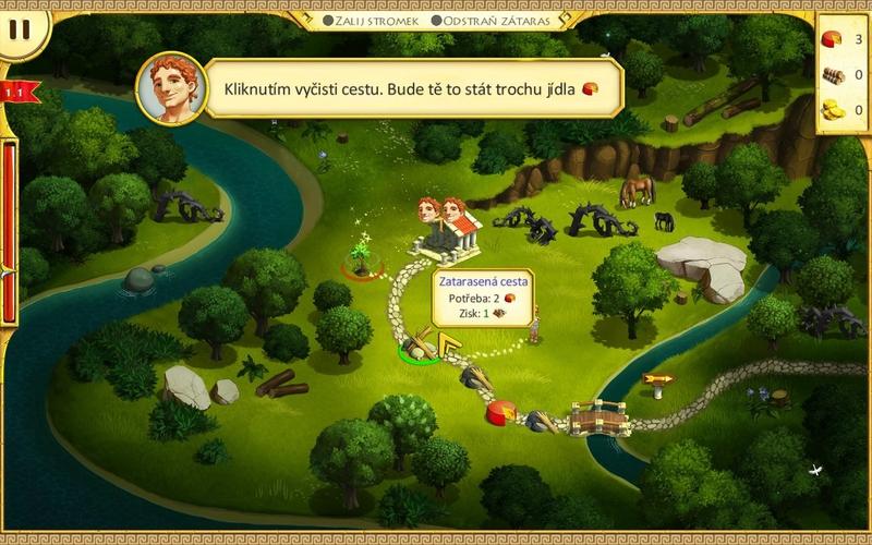 Obrázek ze hry 12 úkolů pro Herkula 3 - Dívčí síla