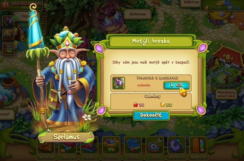 Obrázek ze hry Divotvorné údolí