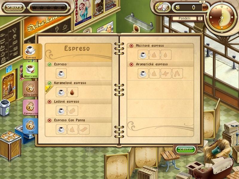 Obrázek ze hry Dobrá kavárna