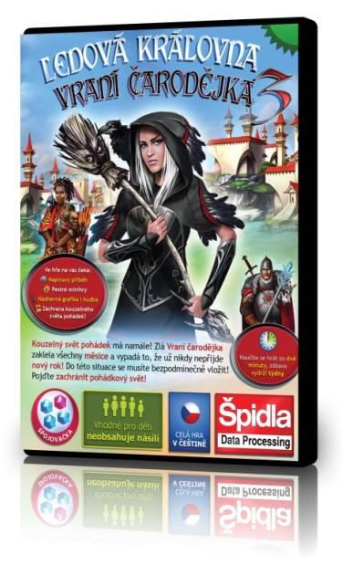 Logické hry - Ledová královna 3 - Vraní čarodějka