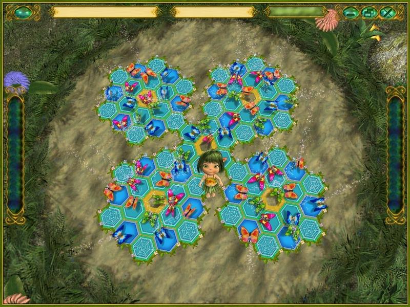 Obrázek ze hry Motýlí víla