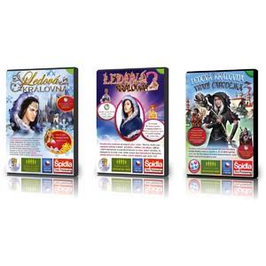 Počítačová hra Ledová královna 1 • Ledová královna 2  • Ledová královna 3 - Vraní čarodějka