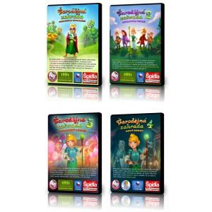 Kompletní herní série Čarodějná zahrada 1 * 2 * 3 *4