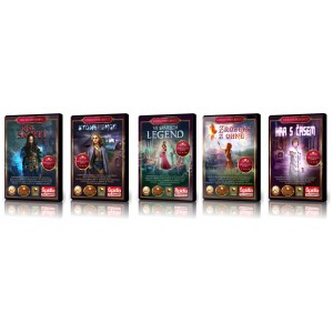 5x počítačová hra z říše fantazie a jiných světů. Kompletně v češtině. Vše sběratelské edice s bonusovým obsahem!