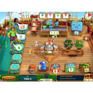 Počítačová hra Milionářské dětičky - léčba prací